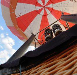 На Закарпатті здійснюють польоти на повітряній кулі