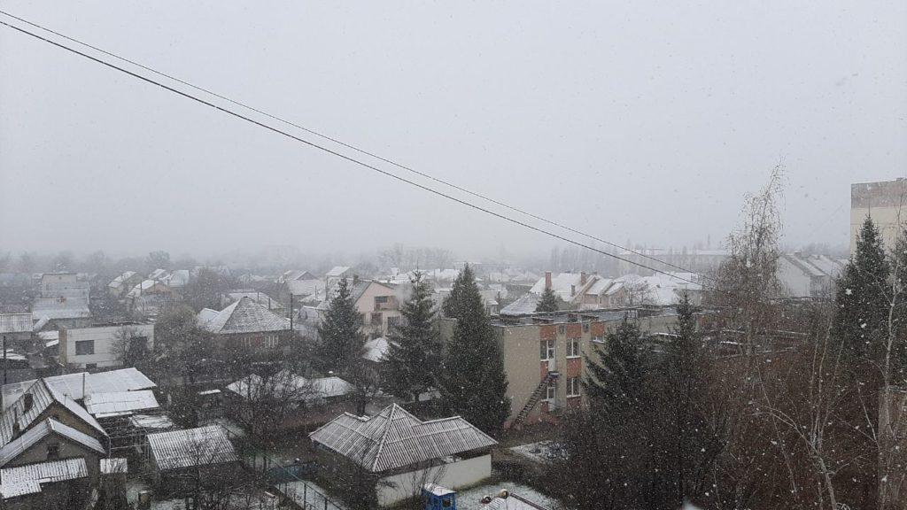 Закарпаття, сніг, опади, мокрий сніг, погіршення погодних умов